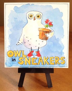 Owl in Sneakers