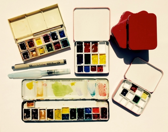 watercolor boxes