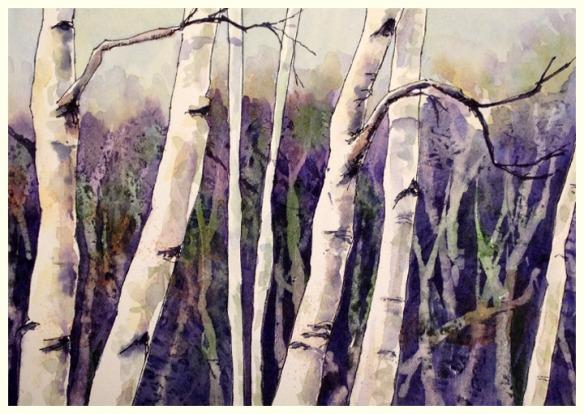 Birches_November