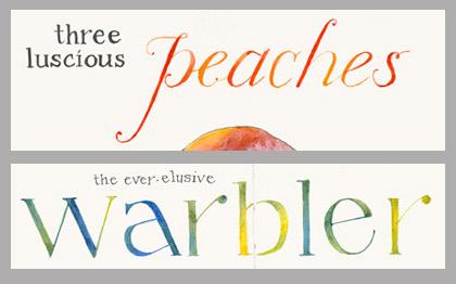 Letters-Watercolor