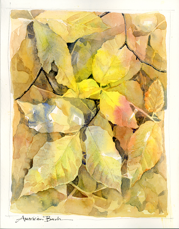 Watercolor, Strathmore- 400 Series Sketchbook; click to view larger