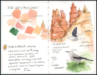 Bryce Canyon Colors