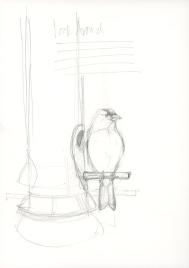 Look Around- Pencil Sketch_980